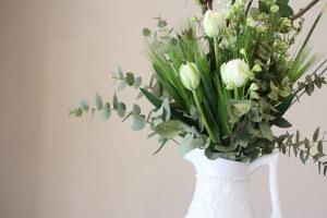 店内の装花